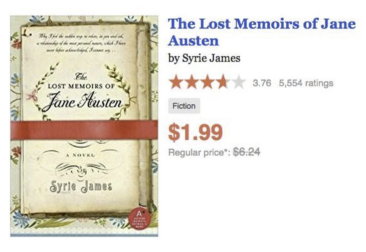 Syrie James On Twitter Grab A Copy Of The Lost Memoirs Of Jane