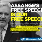 Julian Assange has been gagged and isolated from visitors and communications after heightened pressure. This is on top of his six years without access to sunlight and arbitrary detention in violation of two UN rulings. Account now run by his campaign. https://t.co/cbM33Ng42C