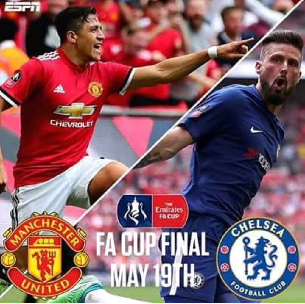 Who go win the #FACup final?   Retweet f...