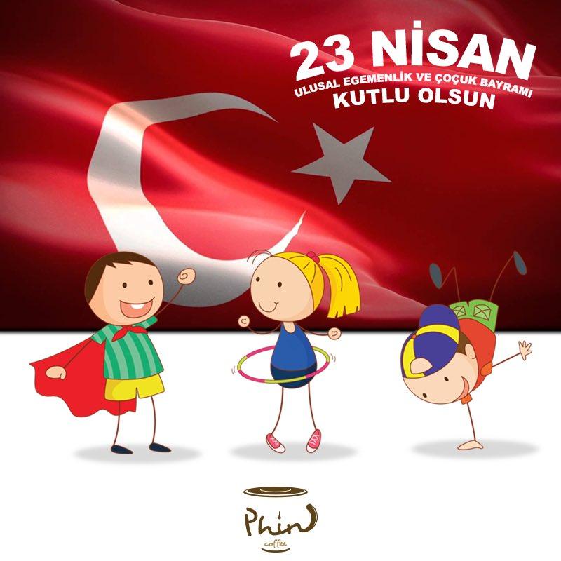 23 Nisan Ulusal Egemenlik ve Çoçuk Bayramı Kutlu Olsun. #Phincoffee #Coffee #BenimCevahirim #İstanbul