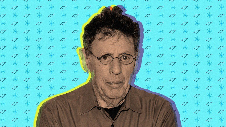 At age 12, Philip Glass started working in a Baltimore record store owned by Glass's father (interview The Atlantic) https://t.co/moEP04PKPE