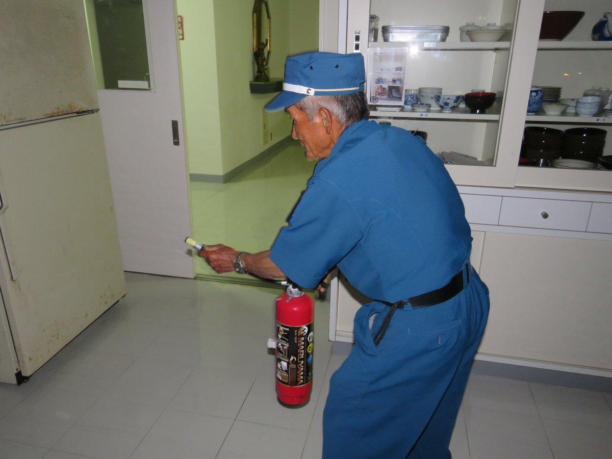 夜間帯の消防訓練☆彡