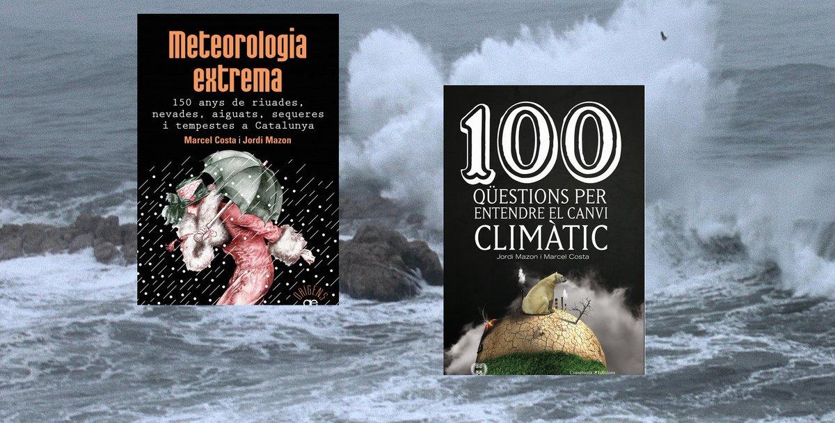 👩🏫📚 Aquí tens 7 llibres de meteorologia...