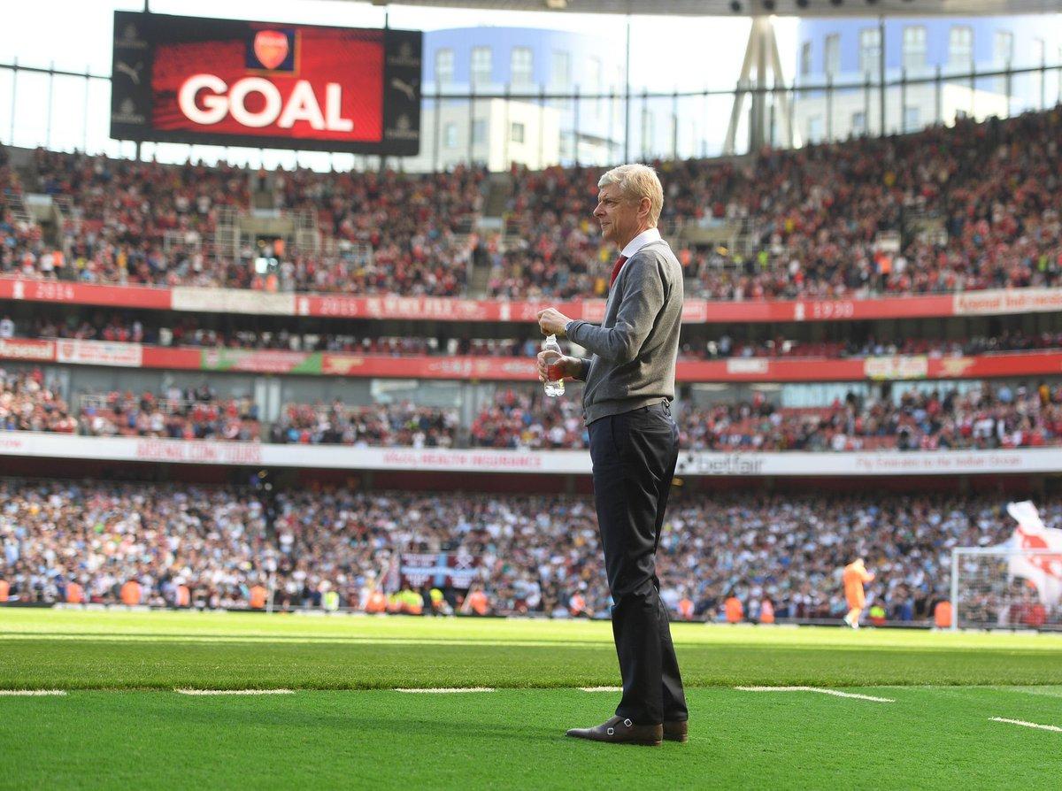 Arsene Wenger oo qaati ka taagan taageerayaasha Arsenal (Maxaa dhacay?)