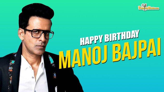 Wishing the very talented Manoj Bajpayee a very Happy Birthday!