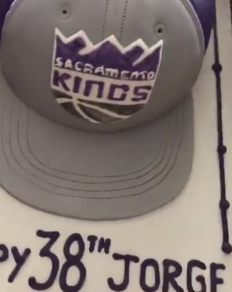 Phenomenal Sacramento Kings On Twitter Best Birthday Cake Ever Best Personalised Birthday Cards Cominlily Jamesorg