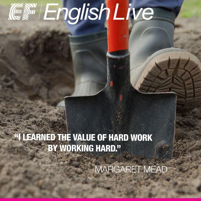 Ef English Live On Twitter I Learned The Value Of Hard Work By