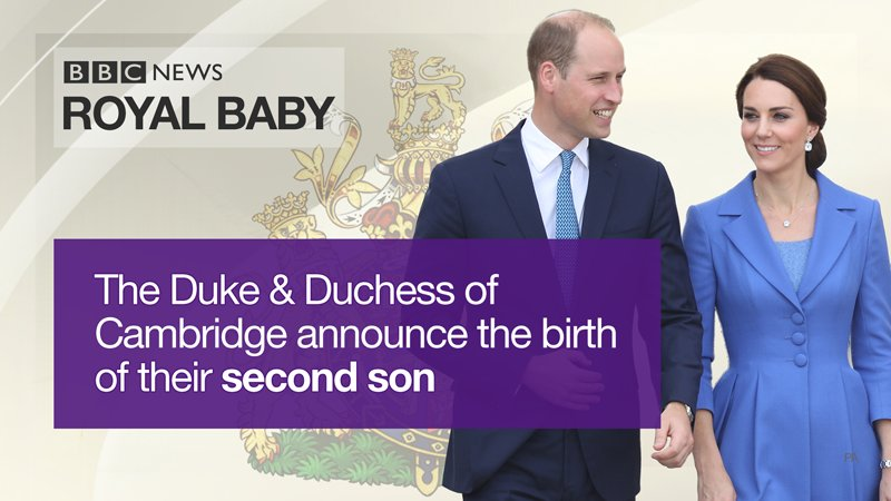 It's a boy! Duchess of Cambridge gives birth to her third child, who is fifth in line to throne #royalbaby   https://t.co/J0yjc0RlKu
