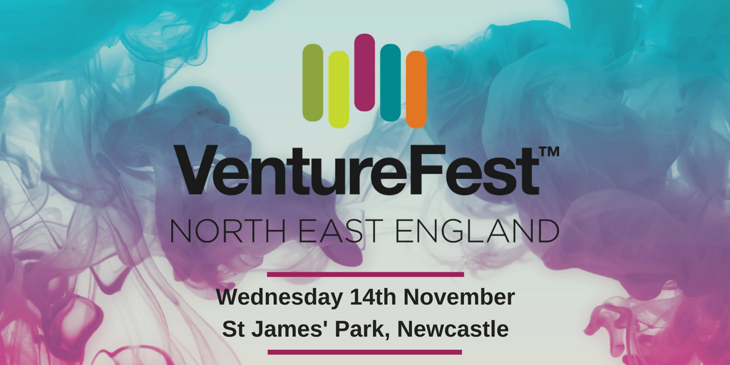 """It's back! @SuperNetworkNE have announced the date for VentureFest North East 2018. Sign up now for the region's innovation conference at St James' Park on Wednesday 14th November 2018 #InnovativeNorth  https:// venturefestnortheast.com / &nbsp;  ""<br>http://pic.twitter.com/9ttUcmZsM1"