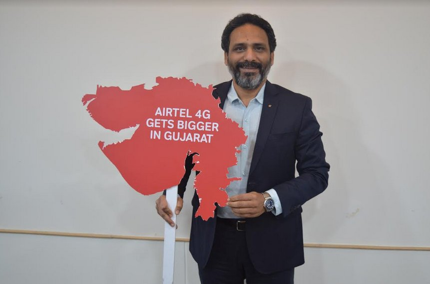 Airtel announces year-long plans for major network expansion in Gujarat