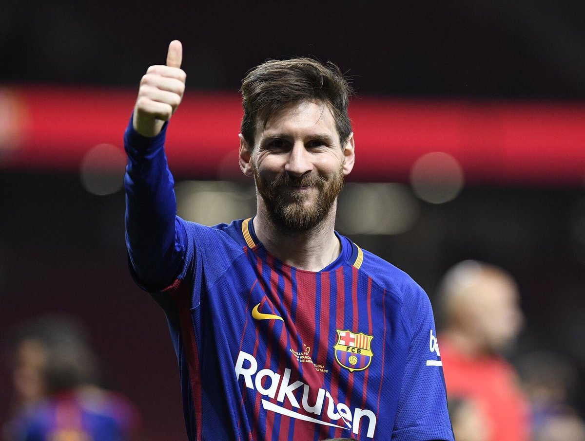 #Messi scored at least 40 GOALS in the last nine seasons with @FCBarcelona  ¡Vamos Leo!  #WeAreMessi<br>http://pic.twitter.com/hLE74z9RJE