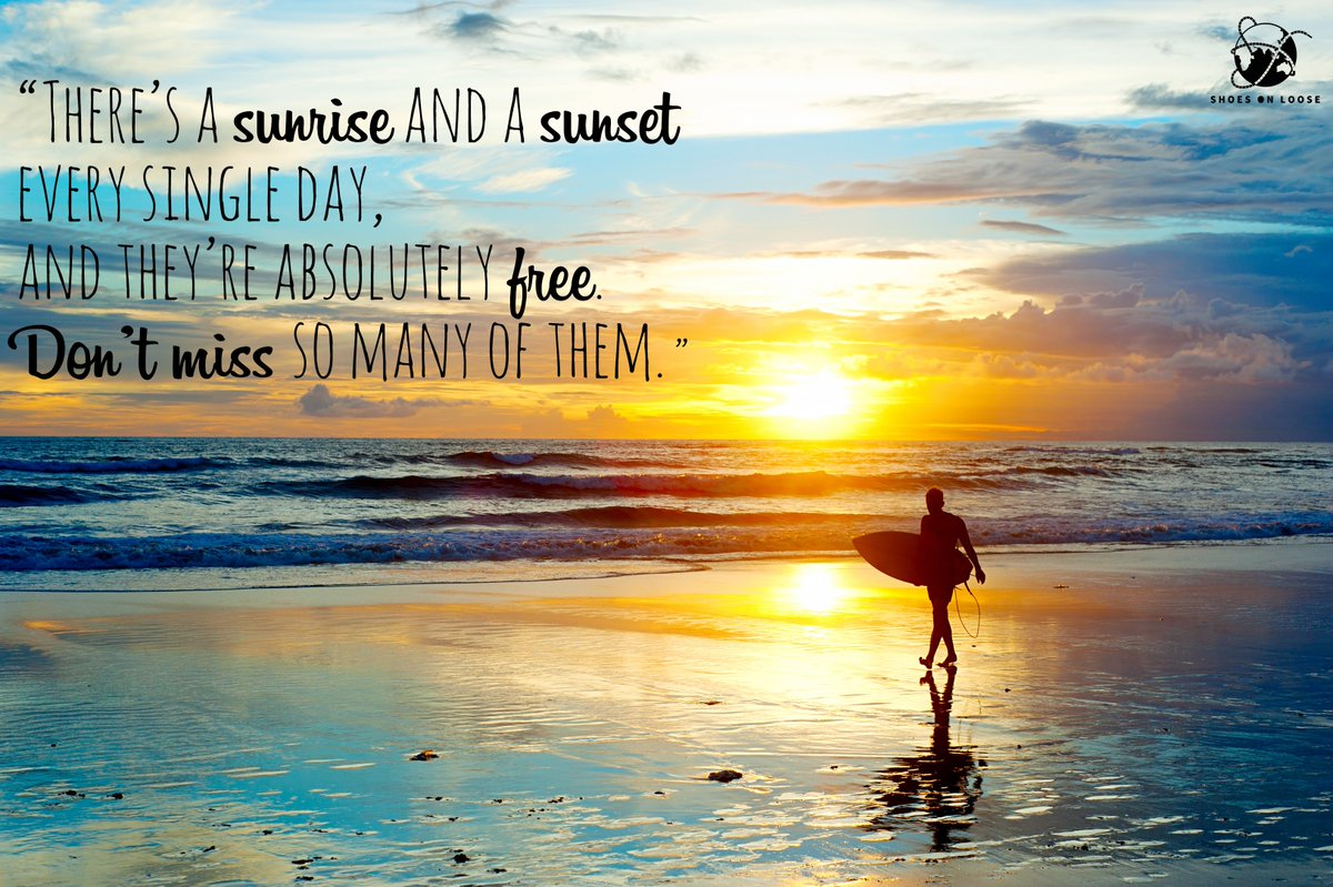 Let not missed sunsets &amp; sunrises be your regret!! #TravelGoals #QOTD #Travel #TravelQuotes #MondayMotivaton #ThoughtOfTheDay #travelblogger #ShoesOnLoose #wanderlust #quotestoliveby #quotesforlife #Bali #sunsets #mondaythoughts<br>http://pic.twitter.com/RwEkuVMoF6
