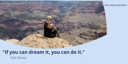 test Twitter Media - #MondayMotivation If you can #dream it, you can do it. https://t.co/n7jAH9HBcl