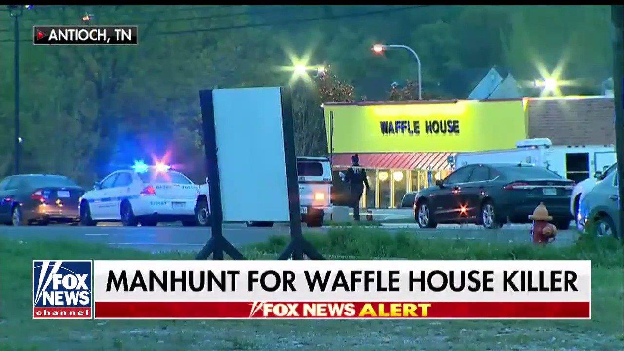 Manhunt intensifies for Waffle House shooting suspect https://t.co/JfsTZuK3Qo https://t.co/PKbDPXjSUY