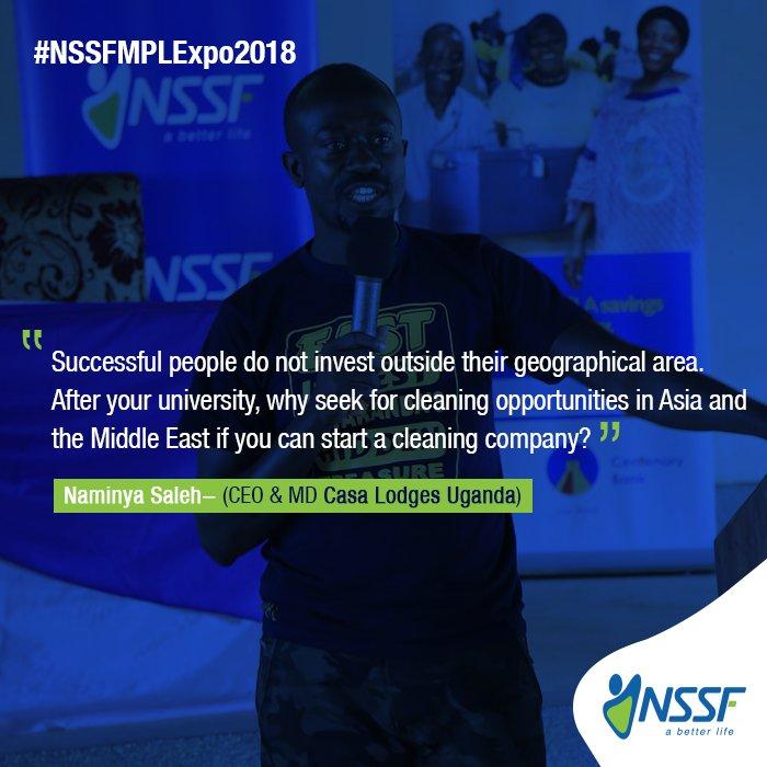 NSSF Uganda on Twitter:
