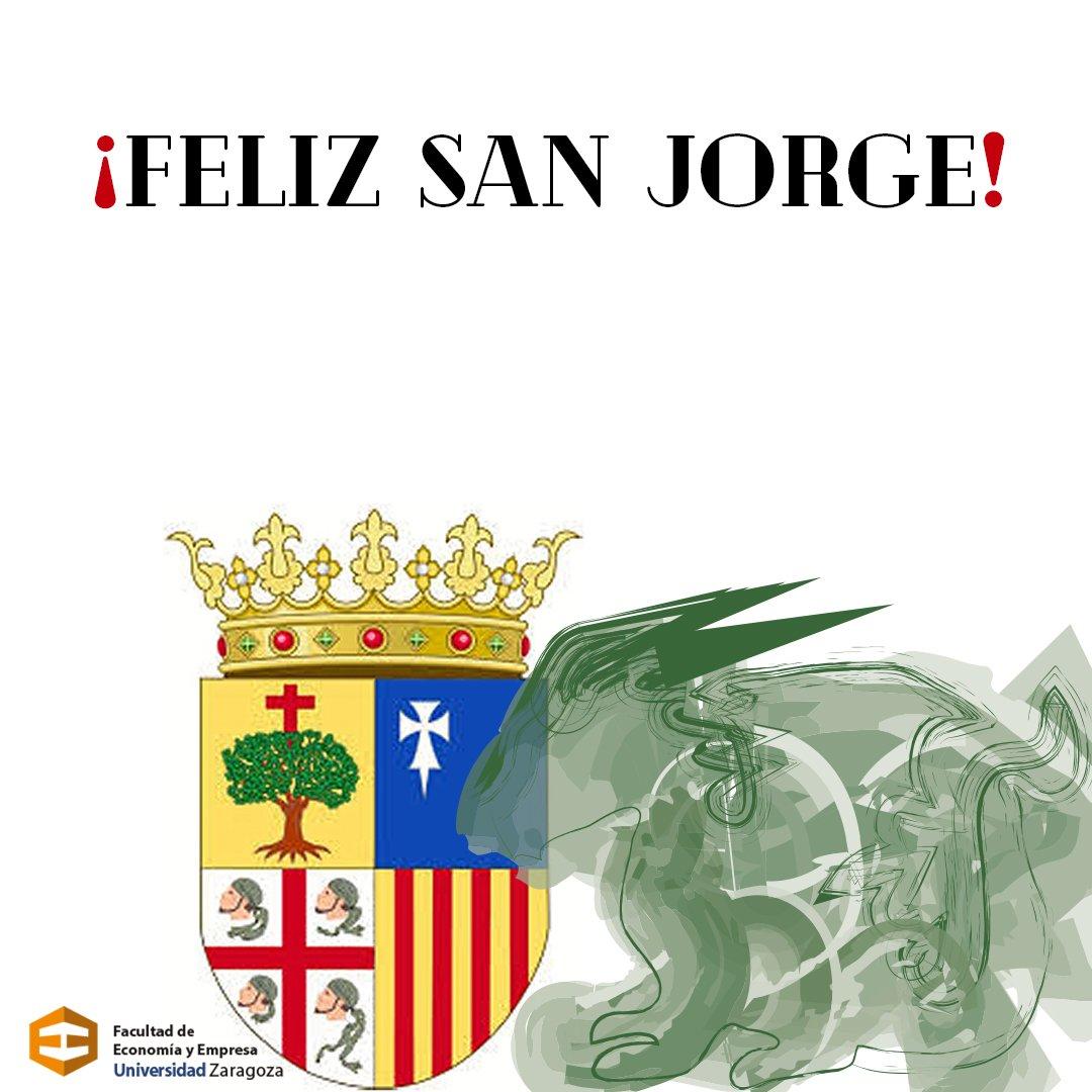 ¡Feliz día de Aragón!  ¡Feliz San Jorge!...