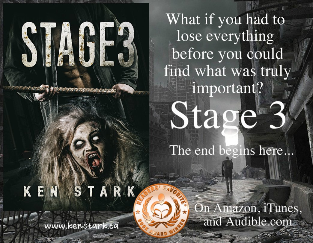 The past was gone and the future was a lie. All they had was now, from one frantic heartbeat to the next.   https://www. amazon.com/dp/B01CYITYOS  &nbsp;            #horror #zombie #apocalypse #survival #thriller #series  #ReadersFavorite  Read #Stage3 for #FREE on #KindleUnlimited<br>http://pic.twitter.com/2BvMziBkx1