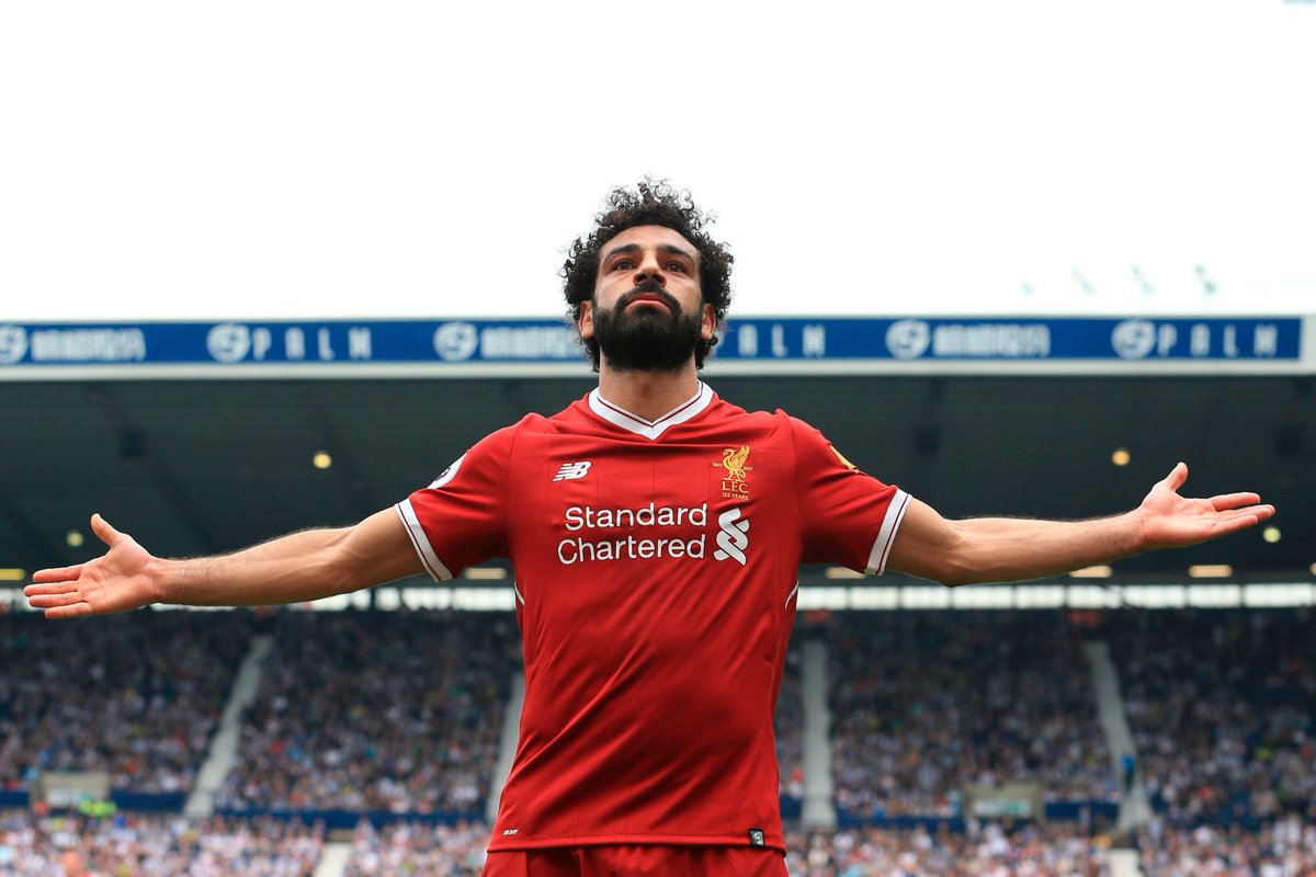 Congratulations to @22mosalah for winning the @PFA Players' Player of the Year!  Will he score against his former club in the #UCL semis? 🤔