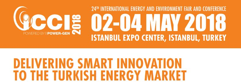 22f50ac701c3 #TurkeyBiz: Международная выставка и конференция по глобальной энергетике и  охране окружающей среды ICCI 2018 в Стамбуле, Турция. #ICCI2018 ...