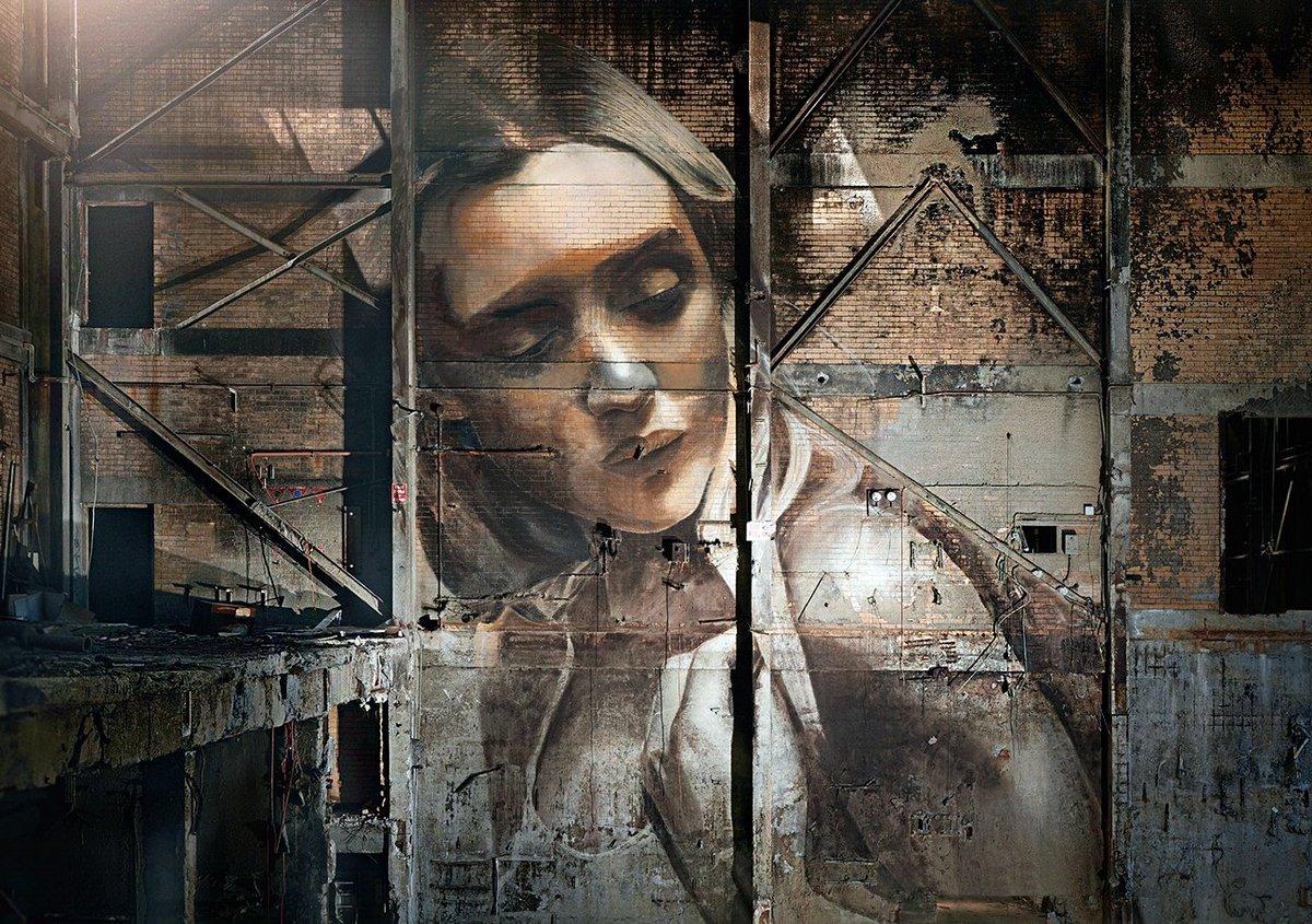 #art #streetart #mural By Rone in Melbourne, Australia<br>http://pic.twitter.com/rRHec2zv4f