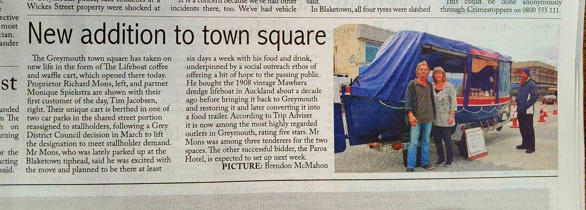 Greymouth newspaper