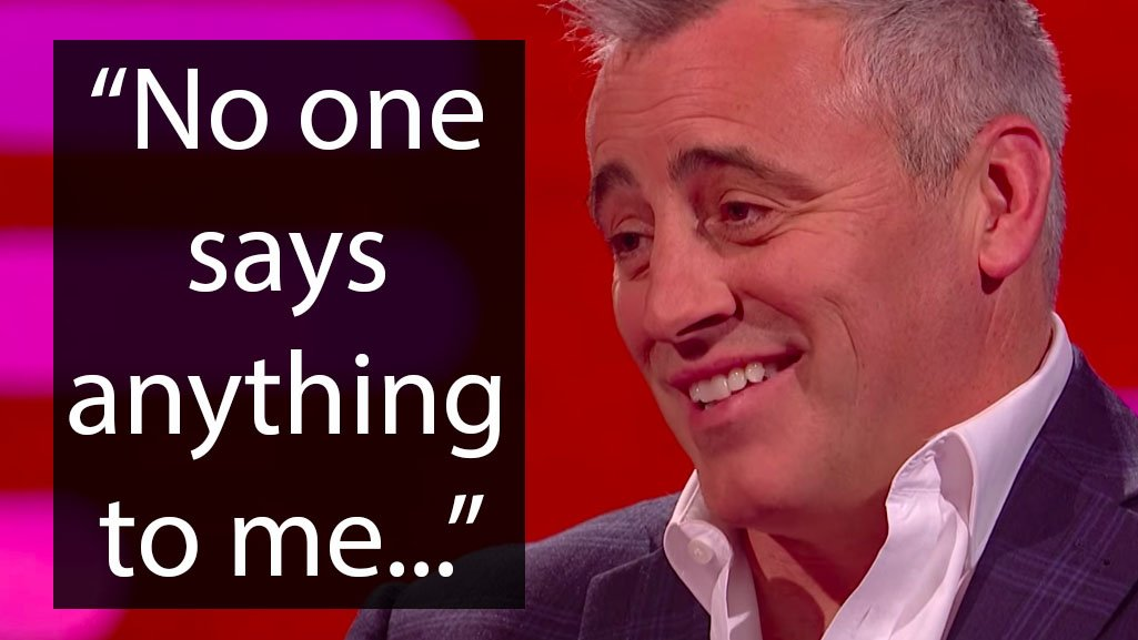 Matt LeBlanc's behind-the-scenes 'Friends' story will make you cringe hard https://t.co/Q1cWdFsAoY https://t.co/UnG4GdZGHM