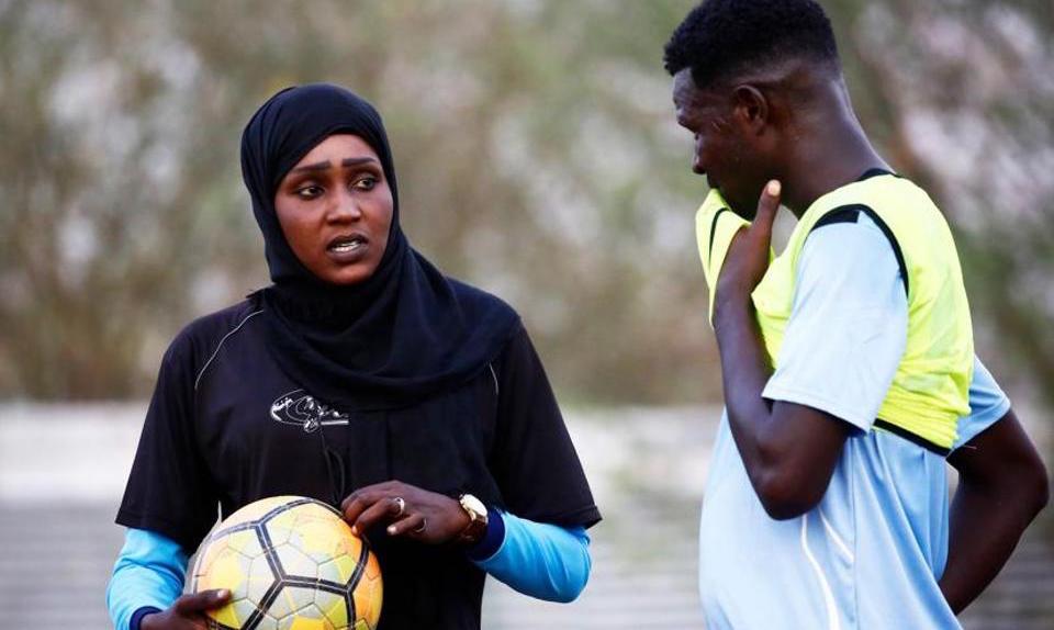Salma Al-Majidi Is The First Arab And Su...