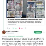 Propaganda posing as journalism is under pressure like never before. It's fantastic to see elite 'journalists' either (a) bewildered by the criticism and/or (b) pretending its unjustified. Respect to @OwenJones84