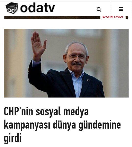 CHP'nin sosyal medya kampanyası dünya gü...
