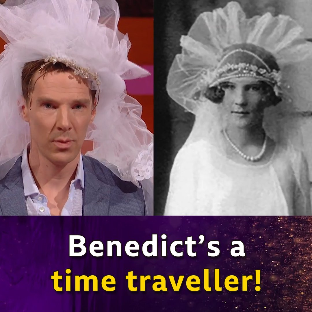 This woman from the 1920s looks EXACTLY like Benedict Cumberbatch. 😯 #TheGNShow