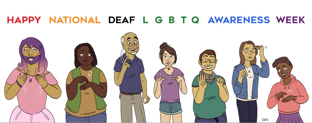 Deaf gay and lesbian center — 2