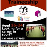 The Crossbar Sports Coaching Traineeship   Open to 16-24 year olds not in education or training, looking to become more employable in the sporting sector  3 level 2 quals, valuable work experience with genuine pathways into employment...  Enquire now admin@crossbarcoaching.com