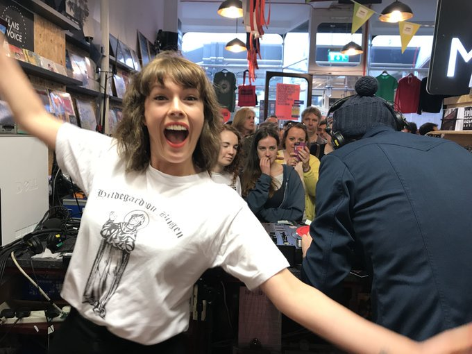 TUNE IN: If you missed @BBC6Music's @recordstoreday special from @spillersrecords in Cardiff on Friday you can listen back to @gwennosaunders &  'De@gruffingtonpostsert Island Disco' here: https://t.co/PssEcDxPBc