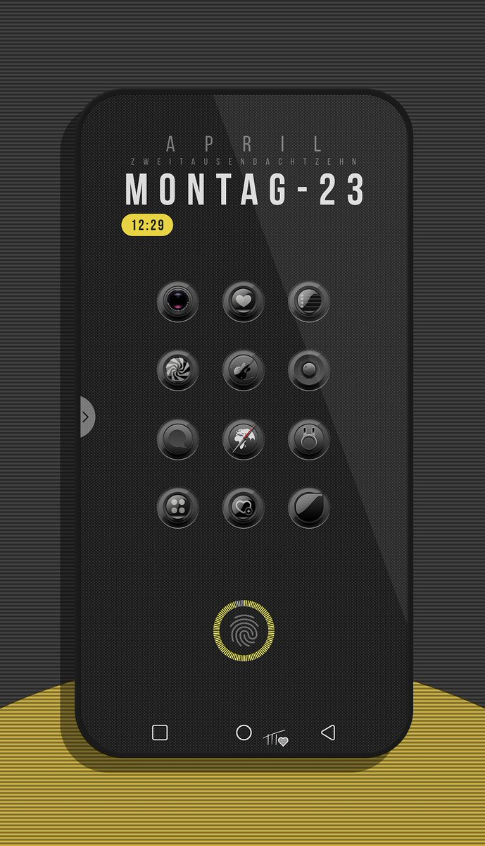 Changed my layout a little bit this morning .. simple but I like  BlackNux by Chris @Chris_Themes  Top widget &#39;Huk KWGT&#39; Bottom widget &#39;Odisea KWGT&#39;<br>http://pic.twitter.com/L804d6GEPb