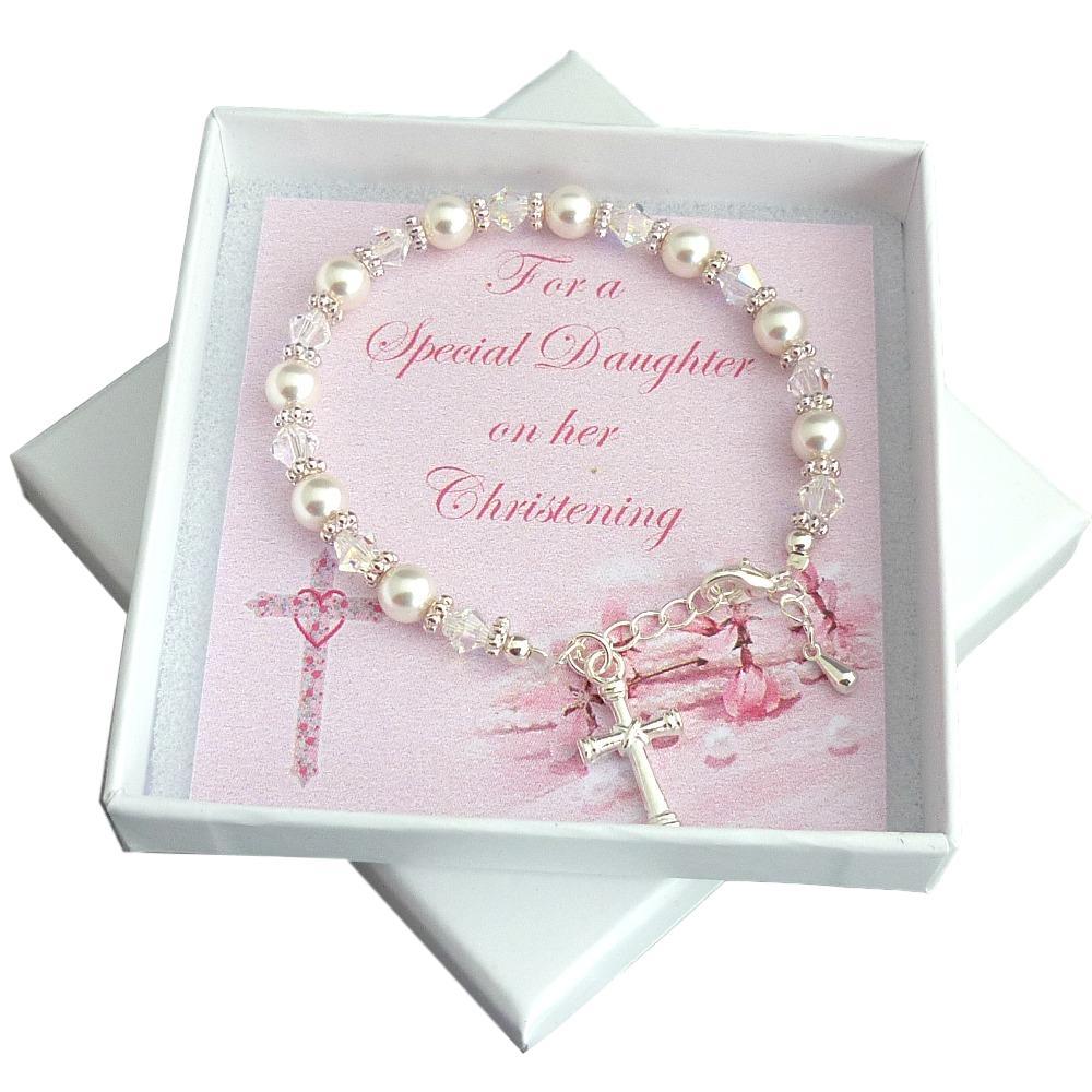 Jewels 4 Girls On Twitter Christening Bracelet For Girls Gift