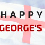 Image for the Tweet beginning: Happy St. George's Day everyone!