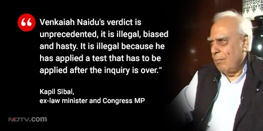 """""""We are not fighting this battle for ourselves but for future generations"""": @KapilSibal on bid to impeach Chief Justice #DipakMisra  @LRC_NDTV<br>http://pic.twitter.com/oVz13isEEf"""