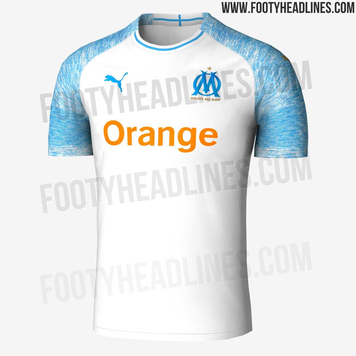 Maillot THIRD Olympique de Marseille Bouna SARR