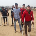 Four are killed, as Gaza protesters move tents closer to border - https://t.co/9kcTnthfRB - #Palestine #GreatReturnMarch