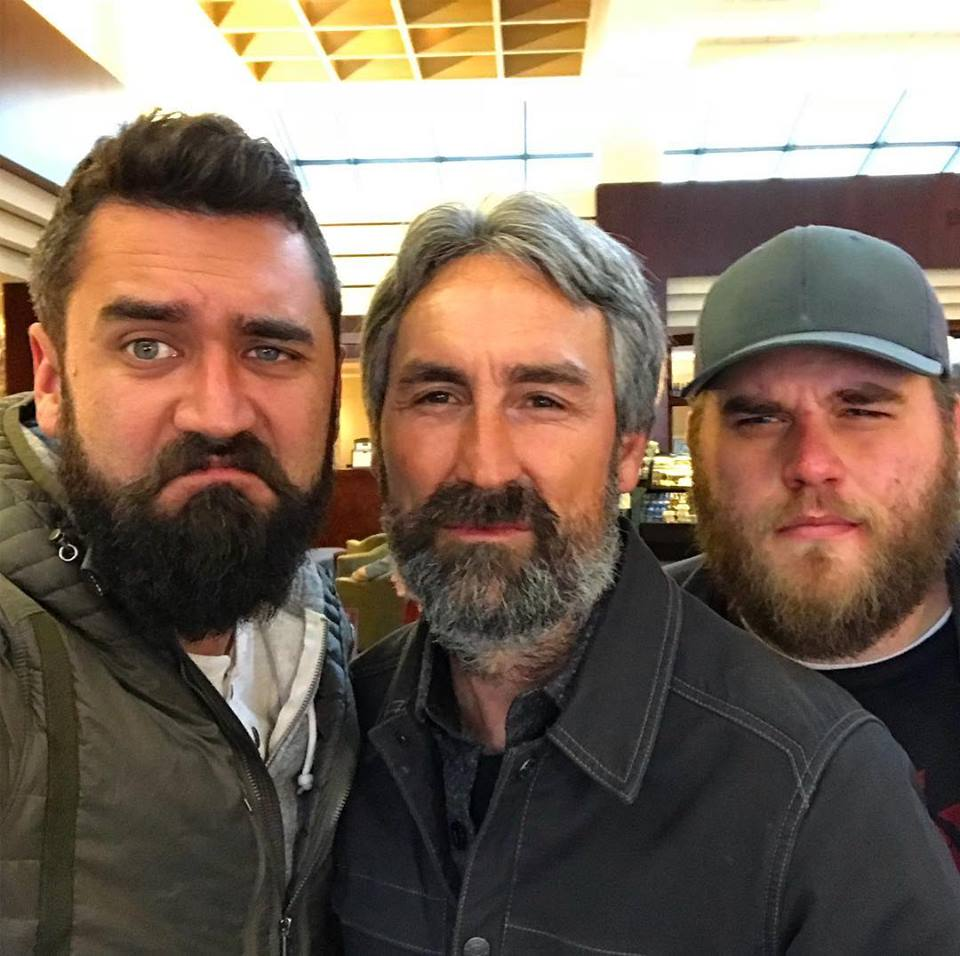 """Mike Wolfe On Twitter: """"Mean Muggin Beards With The Picker"""