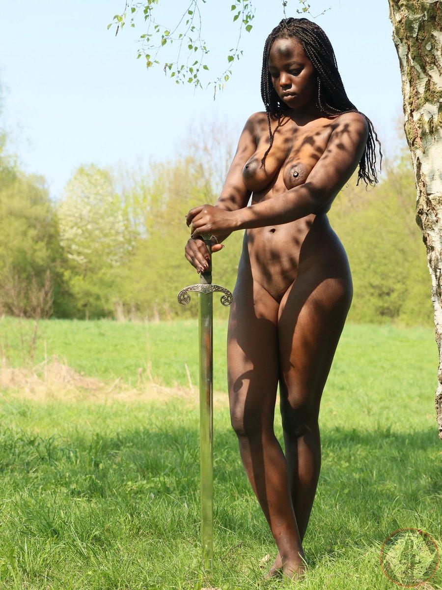 Nude girls beautiful nature are mistaken