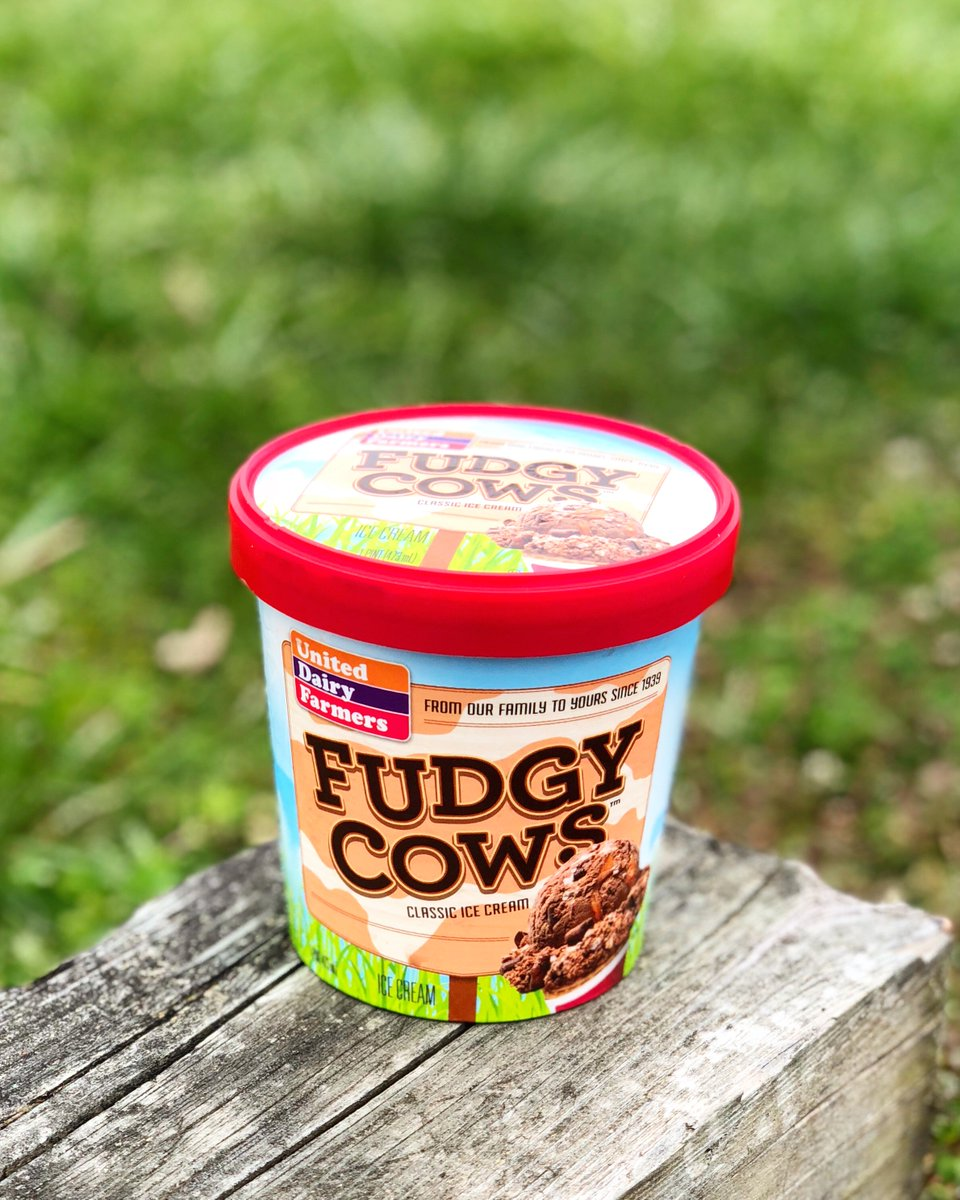 United Dairy Farmers On Twitter New Fudgy Cows Is Now In Pints