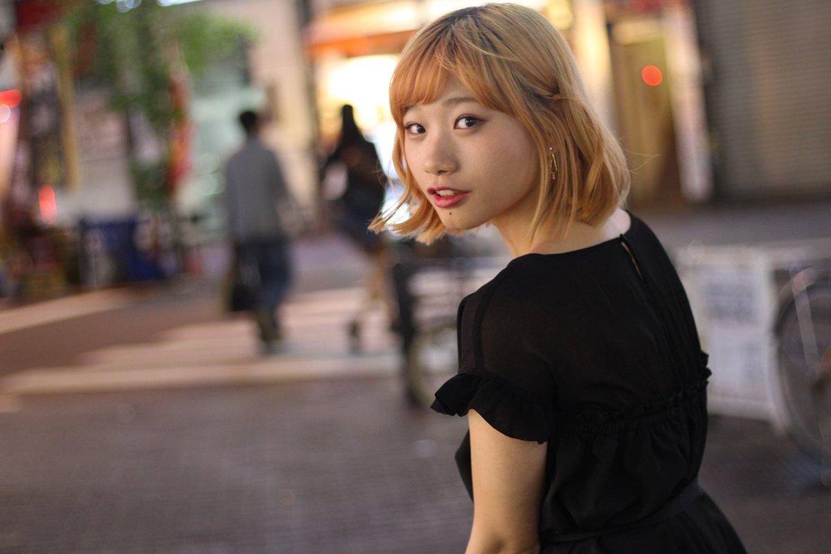 """しんご。 on twitter: """"ちはるさん @chi_harunrun 初🌛*° #夜かわいい"""