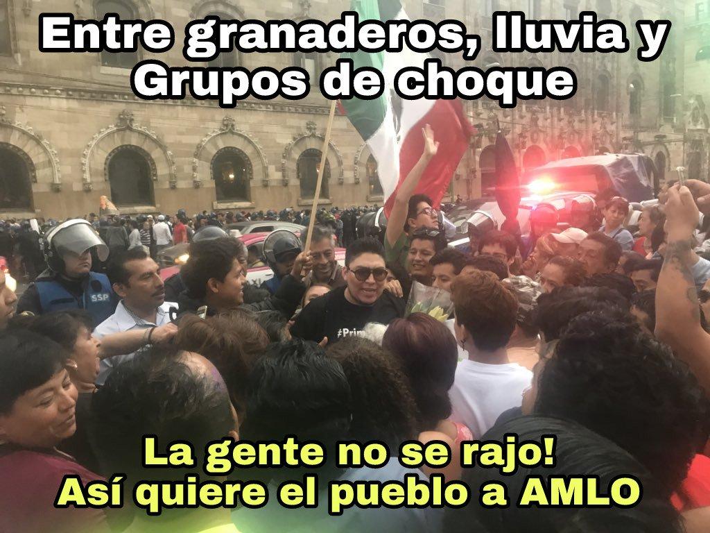 RT @Edd_Campe: #FelizLunes y todo México apoyo ayer a @lopezobrador_ en el debate, sin acarreados, puro pueblo! https://t.co/vpOyZDCYOh