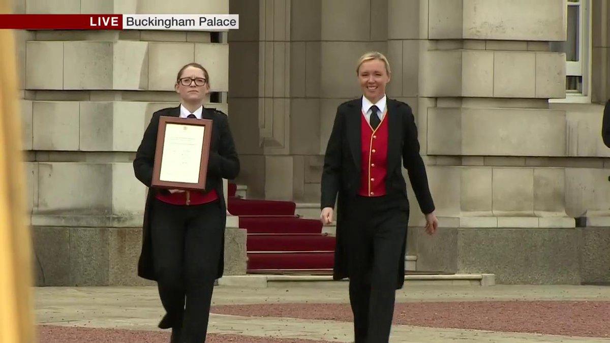 BBC News (UK)'s photo on Buckingham Palace