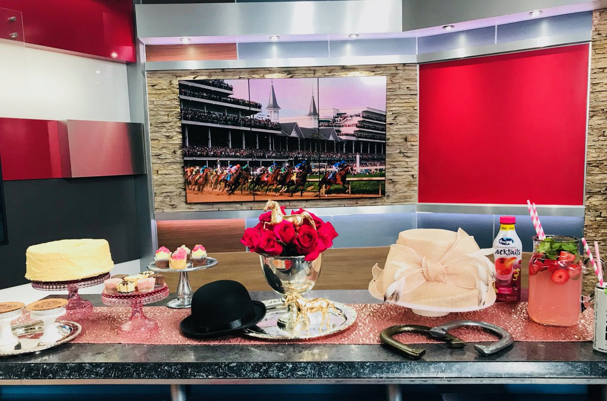 Thank you @FOX59 for letting me share my ideas for the perfect #KentuckyDerby party!  #fox59morning #MommyMagic #KentuckyDerby<br>http://pic.twitter.com/pjaftRywLu