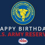 Happy birthday to the U.S. Army Reserve!