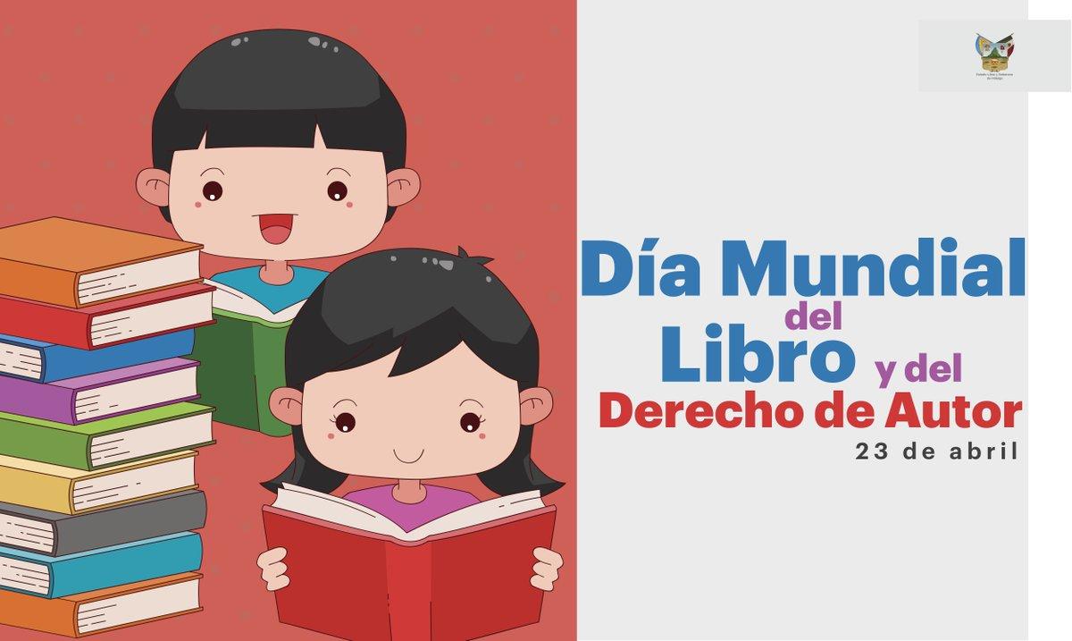 23 de abril Día Mundial del Libro y del...
