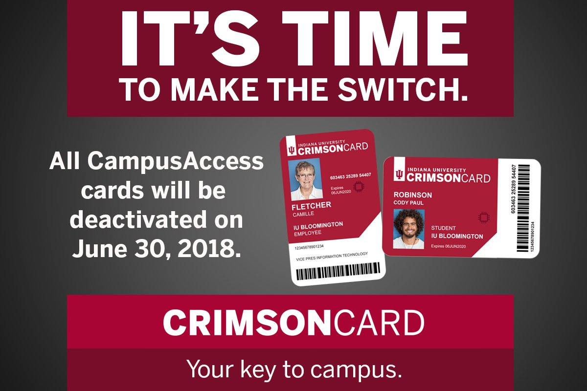 Iu Leave Twitter Get Crimson t June Campusaccess Bloomington Make Https Cards You co 30 On ernfox5hwy