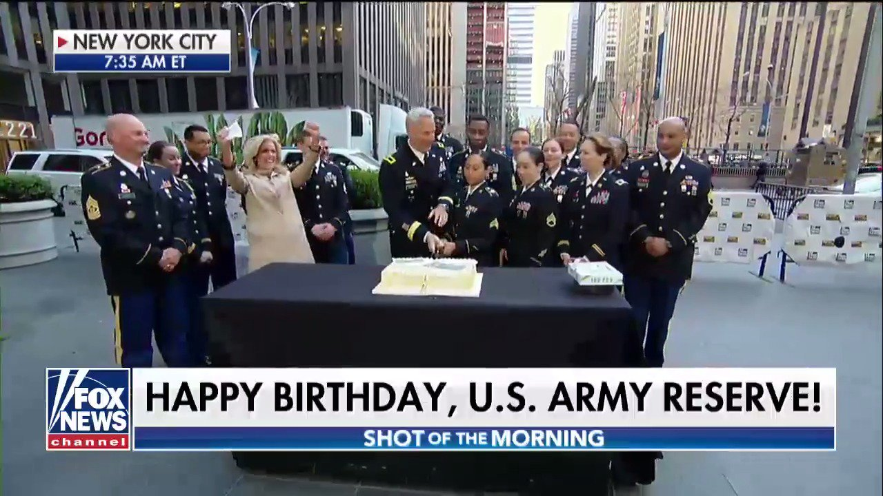 Happy Birthday, @USArmyReserve! #USARBirthday110 https://t.co/vY1YEOB1rS
